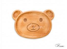 Детская тарелочка «Мишка»